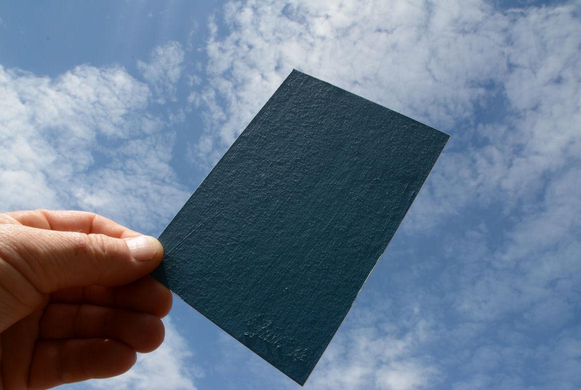Farben zum wohnen: Geschenktes Blau